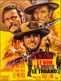 "Movie Posters:Western, The Good, the Bad and the Ugly (United Artists, R-1970s). FrenchGrande (45.75"" X 61.25""). Western.. ..."