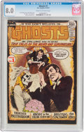 Bronze Age (1970-1979):Horror, Ghosts #1 (DC, 1971) CGC VF 8.0 Cream to off-white pages....