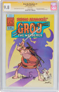 Modern Age (1980-Present):Humor, Groo the Wanderer #1 Signature Series (Pacific Comics, 1982) CGCNM/MT 9.8 White pages....