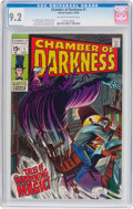 Silver Age (1956-1969):Horror, Chamber of Darkness #1 (Marvel, 1969) CGC NM- 9.2 Off-white towhite pages....