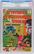 Silver Age (1956-1969):Horror, Mysteries of Unexplored Worlds #1 (Charlton, 1956) CGC VF+ 8.5Off-white to white pages....