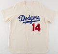 Baseball Collectibles:Uniforms, Brooklyn Dodgers Flannel Jersey....