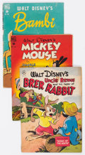 Golden Age (1938-1955):Cartoon Character, Four Color Group of 17 (Dell, 1946-50) Condition: Average VG....(Total: 17 Comic Books)