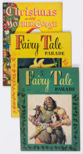 Golden Age (1938-1955):Miscellaneous, Four Color - Fairy Tale/Santa Claus Funnies Group of 11 (Dell, 1946-49) Condition: Average GD.... (Total: 11 Comic Books)