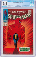 Silver Age (1956-1969):Superhero, The Amazing Spider-Man #50 (Marvel, 1967) CGC NM- 9.2 Off-white towhite pages....