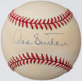 Autographs:Baseballs, Don Sutton Single Signed Baseball. ...