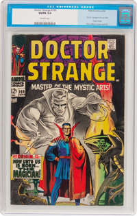 Doctor Strange #169 (Marvel, 1968) CGC VG/FN 5.0 Off-white pages