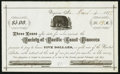 Obsoletes By State:Nevada, Virginia, NV- Society of Pacific Coast Pioneers Loan Receipt $5 Mar. 6, 1877. ...