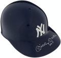 Baseball Collectibles:Hats, Mickey Mantle Signed New York Yankees Batting Helmet....
