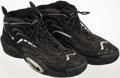 Basketball Collectibles:Uniforms, Late 1990's Horace Grant Game Worn, Signed Shoes....