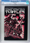 Modern Age (1980-Present):Alternative/Underground, Teenage Mutant Ninja Turtles #1 (Mirage Studios, 1984) CGC VF/NM9.0 White pages....