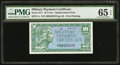 Military Payment Certificates:Series 611, Series 611 10¢ Replacement PMG Gem Uncirculated 65 EPQ.. ...