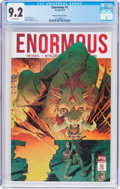 Modern Age (1980-Present):Science Fiction, Enormous #1 Phantom Variant Cover (215 Ink, 2014) CGC NM- 9.2 Whitepages....