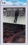 Modern Age (1980-Present):Horror, The Walking Dead #100 Chromium Edition (Image, 2012) CGC NM/MT 9.8White pages....