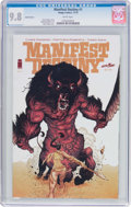 Modern Age (1980-Present):Miscellaneous, Manifest Destiny #1 Variant Cover (Image/Skybound, 2013) CGC NM/MT 9.8 White pages....