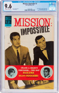 Silver Age (1956-1969):Adventure, Mission: Impossible #3 (Dell, 1967) CGC NM+ 9.6 Off-white to white pages....