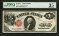 Large Size:Legal Tender Notes, Fr. 36* $1 1917 Legal Tender Star PMG Choice Very Fine 35.. ...