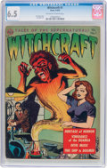 Golden Age (1938-1955):Horror, Witchcraft #1 (Avon, 1952) CGC FN+ 6.5 Off-white to white pages....