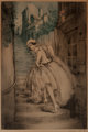Louis Icart (French, 1888-1950) Charm of Montmartre, 1932 Etching in colors 20-1/2 x 13-3/4 inches (52.1 x 34.9 cm) (
