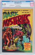 Golden Age (1938-1955):Horror, Dark Mysteries #1 (Master Publications, 1951) CGC FN 6.0 Cream tooff-white pages....