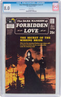 Bronze Age (1970-1979):Romance, Dark Mansion of Forbidden Love #1 (DC, 1971) CGC VF 8.0 Whitepages....