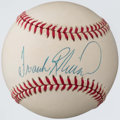 Autographs:Baseballs, Frank Robinson Single Signed Baseball. ...