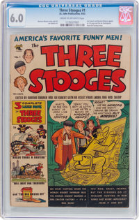 Three Stooges #1 (St. John, 1953) CGC FN 6.0 Cream to off-white pages