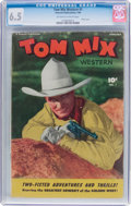Golden Age (1938-1955):Western, Tom Mix Western #1 (Fawcett Publications, 1948) CGC FN+ 6.5Off-white to white pages....
