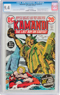 Bronze Age (1970-1979):Science Fiction, Kamandi, the Last Boy on Earth #1 (DC, 1972) CGC NM 9.4 White pages....