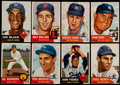 Baseball Cards:Lots, 1953 Topps Baseball Collection (95) With 27 High Numbers!...