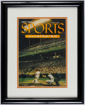 Autographs:Others, 1954 Sports Illustrated First Issue - Signed by Eddie Mathews....