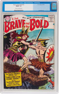 Silver Age (1956-1969):Adventure, The Brave and the Bold #19 (DC, 1958) CGC FN/VF 7.0 Cream to off-white pages....