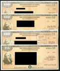 Miscellaneous:Other, $75; $100 (3) Series EE Savings Bonds 1988-98.. ... (Total: 4items)