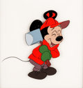 Animation Art:Production Cel, Pluto's Christmas Tree Mickey Mouse Production Cel (WaltDisney, 1951). ...
