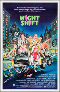 "Night Shift & Other Lot (Warner Brothers, 1982). One Sheets (2) (27"" X 41""). Comedy. ... (Total: 2 Ite..."