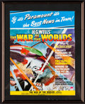 """Movie Posters:Science Fiction, The War of the Worlds (Paramount, 1953). Framed Magazine Cover(Framed: 10.75"""" X 13.25,"""" Unframed: 8.5"""" X 11""""), Autographed ...(Total: 12 Items)"""