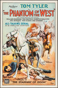 """Movie Posters:Serial, The Phantom of the West (Mascot, 1931). One Sheet (27"""" X 41"""") Chapter 2--""""The Stairway of Doom."""" Serial.. ..."""