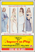 "Movie Posters:Sexploitation, Anyone Can Play & Other Lot (Paramount, 1968). Australian OneSheet (27"" X 40"") & One Sheet (27"" X 41""). Sexploitation.. ...(Total: 2 Items)"