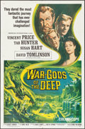 """Movie Posters:Science Fiction, War Gods of the Deep (American International, 1965). One Sheet (27""""X 41""""). Science Fiction.. ..."""