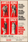 "Movie Posters:James Bond, From Russia with Love (United Artists, 1964). Poster (40"" X 60"")Style Z. James Bond.. ..."