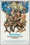 "Movie Posters:War, Kelly's Heroes (MGM, 1970). One Sheet (27"" X 41"") Style A &Pressbook Supplement (4 Pages, 11"" X 15""). War.. ... (Total: 2Item)"