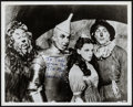 """Movie Posters:Fantasy, The Wizard of Oz (MGM, c.1980s). Autographed Restrike Photo (8"""" X10""""). Fantasy.. ..."""