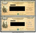 Miscellaneous:Other, $75; $100 Series EE Savings Bonds 1986.. ... (Total: 2 items)
