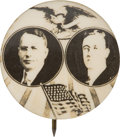 """Political:Pinback Buttons (1896-present), Cox & Roosevelt: Iconic 7/8"""" 1920 Jugate Button Rarity...."""