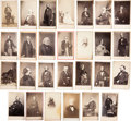 Photography:CDVs, Civil War Era Cartes-de-Visite: Writers, Inventors, Artists, Performers, Etc....