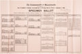 Political:Miscellaneous Political, John F. Kennedy: A Rare Item from His 1950 Congressional Candidacy....