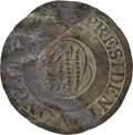 """Political:Inaugural (1789-present), George Washington: Very Rare """"Dotted Script"""" Variant 1789 InauguralCoat Button...."""