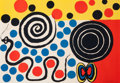 Prints & Multiples, Alexander Calder (American, 1898-1976). Untitled. Lithograph in colors. 29-1/4 x 42 inches (74.3 x 106.7 cm) (sheet). Ed...