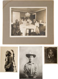 Western Expansion:Cowboy, [Johnny Baker]. Group of Photographs (4)....