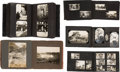 Western Expansion:Cowboy, [Johnny Baker]. Five Family Photo Albums.... (Total: 5 Items)